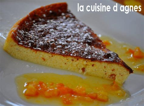 la cuisine d agnes gâteau de petits suisses à l orange sauce cointreau
