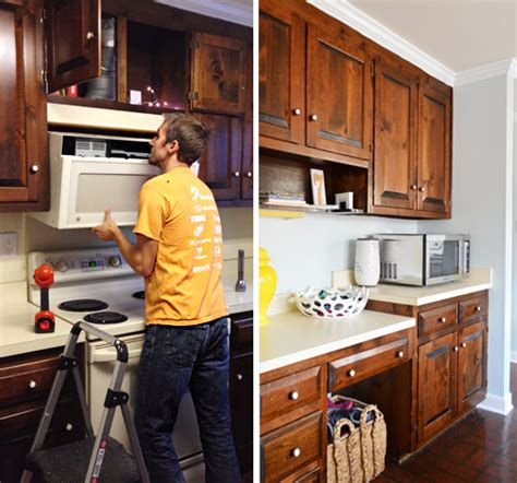 do over the range microwaves have fans replacing a hanging microwave with a range hood young