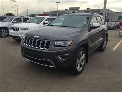 jeep grand cherokee grey 2014 jeep grand cherokee limited grey sherwood park