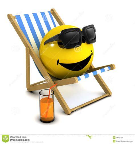 Ferie För Smiley 3d Stock Illustrationer - Bild: 38945346