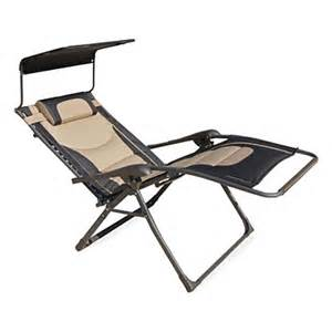 black tan oversized zero gravity chair with canopy big