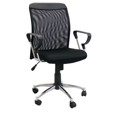 low back desk chair furinno hidup low back mesh conference chair reviews