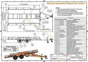 Wiring Diagram For Trailer Tilt Car Hauler Trailer Plan