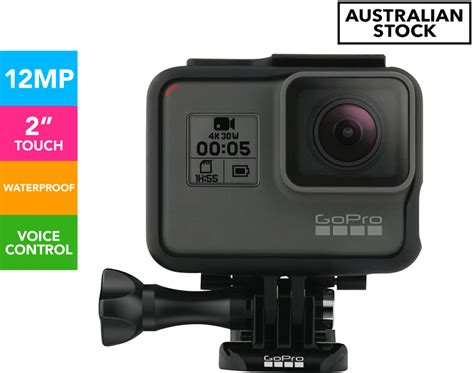 gopro hero action video camera grey import black