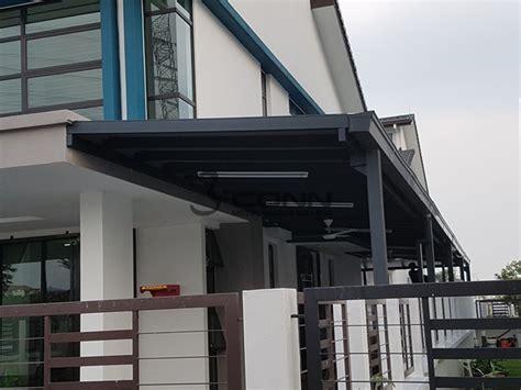 awning mild steel aluer carbon aluminium composite panel
