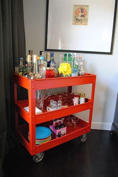inspiring diy bar cart designs  makeovers