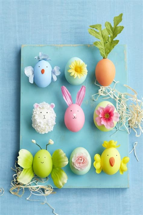 5 Ideen, Wie Man Die Ostereier Färben Und Dekorieren Kann
