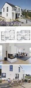 Haus Bauen Ideen Grundriss : modernes haus mit einliegerwohnung garage kamin ~ Orissabook.com Haus und Dekorationen