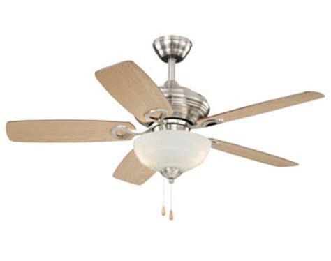 Menards Outdoor Ceiling Fans by Turn Of The Century Vienna 42in Satin Nickel Ceiling Fan
