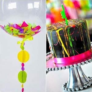 Neon Sweet Fifteen Theme quinceanera