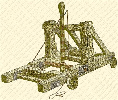 siege machines middle ages catapult