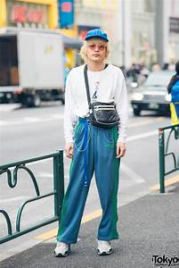 Sporty Streetwear w/ Kodona Sweater u0026 Dude Harajuku Track Pants u0026 Vintage Fashion