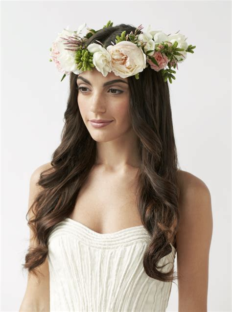 fresh flower crown weddinghttprefreshroseblogspotcom