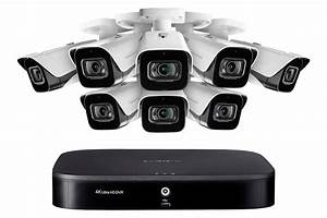 Lorex Security 4k Surveillance System 8 Mpx Cameras Audio