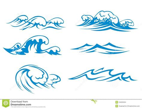 Wave Drawing Clipart