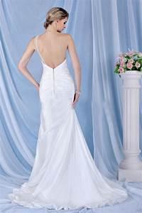 Robe De Mariée Dos Nu Plongeant : robe de mariee dos nu ~ Melissatoandfro.com Idées de Décoration