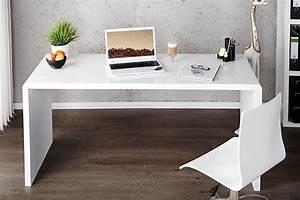 Weißer Hochglanz Schreibtisch : wei er schreibtisch fast trade 140 cm riess ~ Frokenaadalensverden.com Haus und Dekorationen