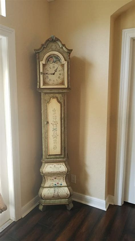 shabby chic grandfather clock  sale  boca raton fl offerup