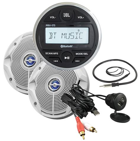 Boat Stereo by Get 2018 S Best Deal On Jbl Jblmpk175 Marine Stereo System
