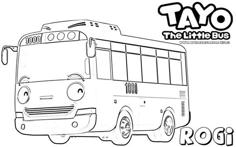 tayo coloring pages  jeffersonclan