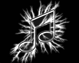 Best Black And White Music Notes #9928 - Clipartion.com