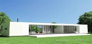 Single story Contemporary villas