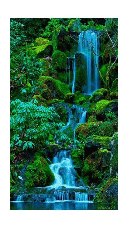Waterfall Amazing Waterfalls Nature Scenery Places Cool