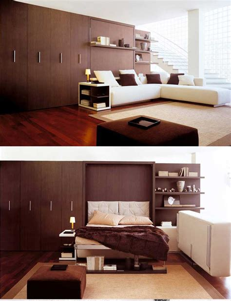 space bedroom furniture wall beds space saving furniture for bedroom living room interior design ideas