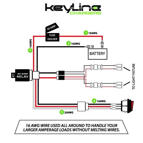 Rigid Led Light Bar Wiring Diagram by Cree Light Bar Wiring Diagram Electrical Website Kanri Info