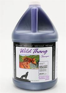 Line Dogs Chart Wild Animal Wild Thang Shampoo For Dogs 50 1 Means U