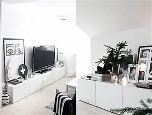 Meuble Blanc Laqué Ikea : meuble besta ikea rangement modulable en 25 id es top ~ Premium-room.com Idées de Décoration