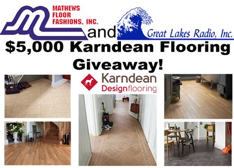 flooring giveaway mathews floor fashions 5 000 karndean flooring giveaway upper peninsula of michigan radio