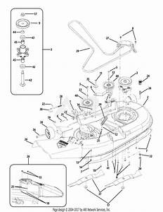Troy Bilt 17be2acg011 Colt Xp  2010  Parts Diagram For