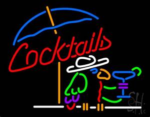 Cocktails Parrot Neon Sign Cocktail Neon Signs Every