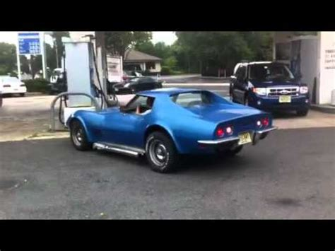 corvette  side pipes youtube