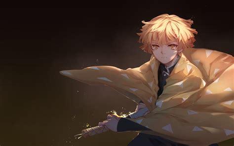 He is a traveling companion of tanjiro. 10++ Anime Wallpaper Demon Slayer Zenitsu