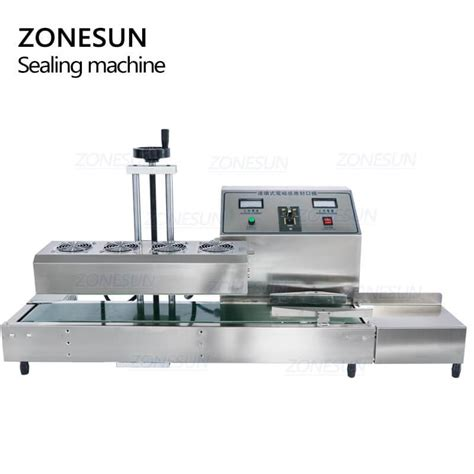 zonesun zs lxa desktop stainless steel continuous induction sealer zonesun technology limited