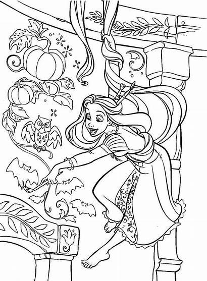 Rapunzel Coloring Pages Printables