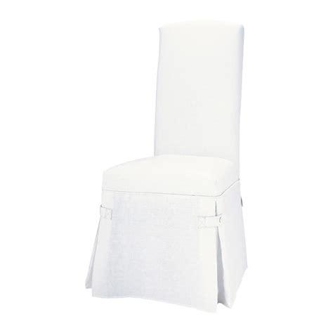 maison du monde housse de chaise housse de chaise blanc maisons du monde