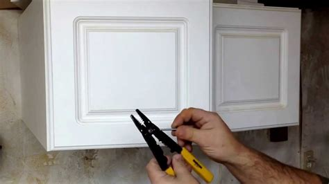 tools needed to install kitchen cabinets jig for drilling cabinet door hardware youtube