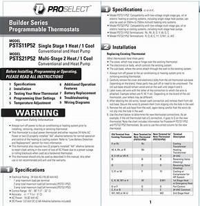 Proselect Manual  U2013 Air Conditioning Repair Glendora