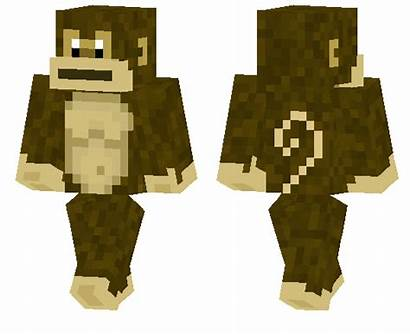 Skin Ape Monkey Skins Minecraft Know Pe