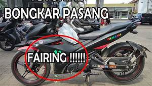 How To Disassemble Front Fairing Yamaha Jupiter Mx King