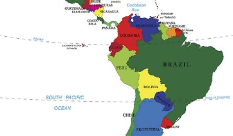Countries That Make Up Latin America Worldatlascom
