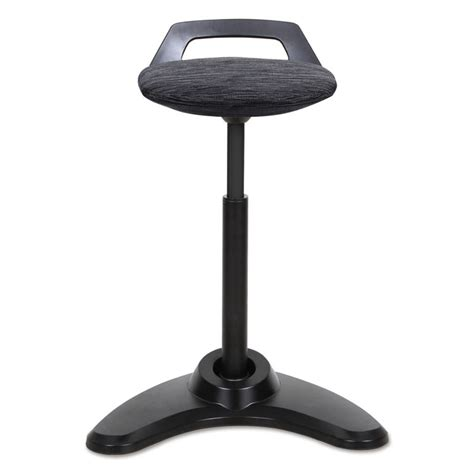 perch sit to stand desk alera activergo series sit to stand perch stool black