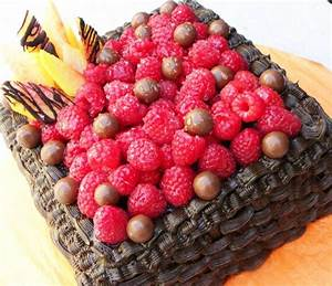 Chocolate Fruit Cake - CakeCentral.com