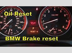 BMW 328i 335i 335xi 328xi oil reset, brake reset YouTube