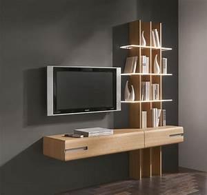 Thielemeyer Casa Eiche Massivholz Regal TV Lösung Hänge