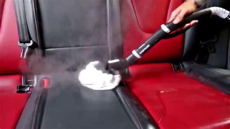nettoyeur vapeur siege auto comment nettoyer les sièges en cuir avec un nettoyeur
