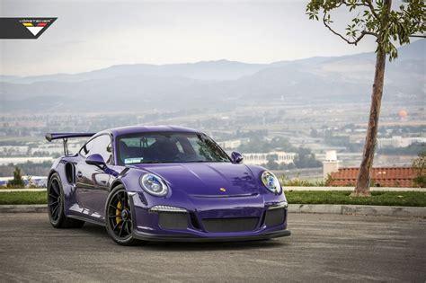 """Vorsteiner Porsche 991 Gt3 Rs """"purple Beast"""""""